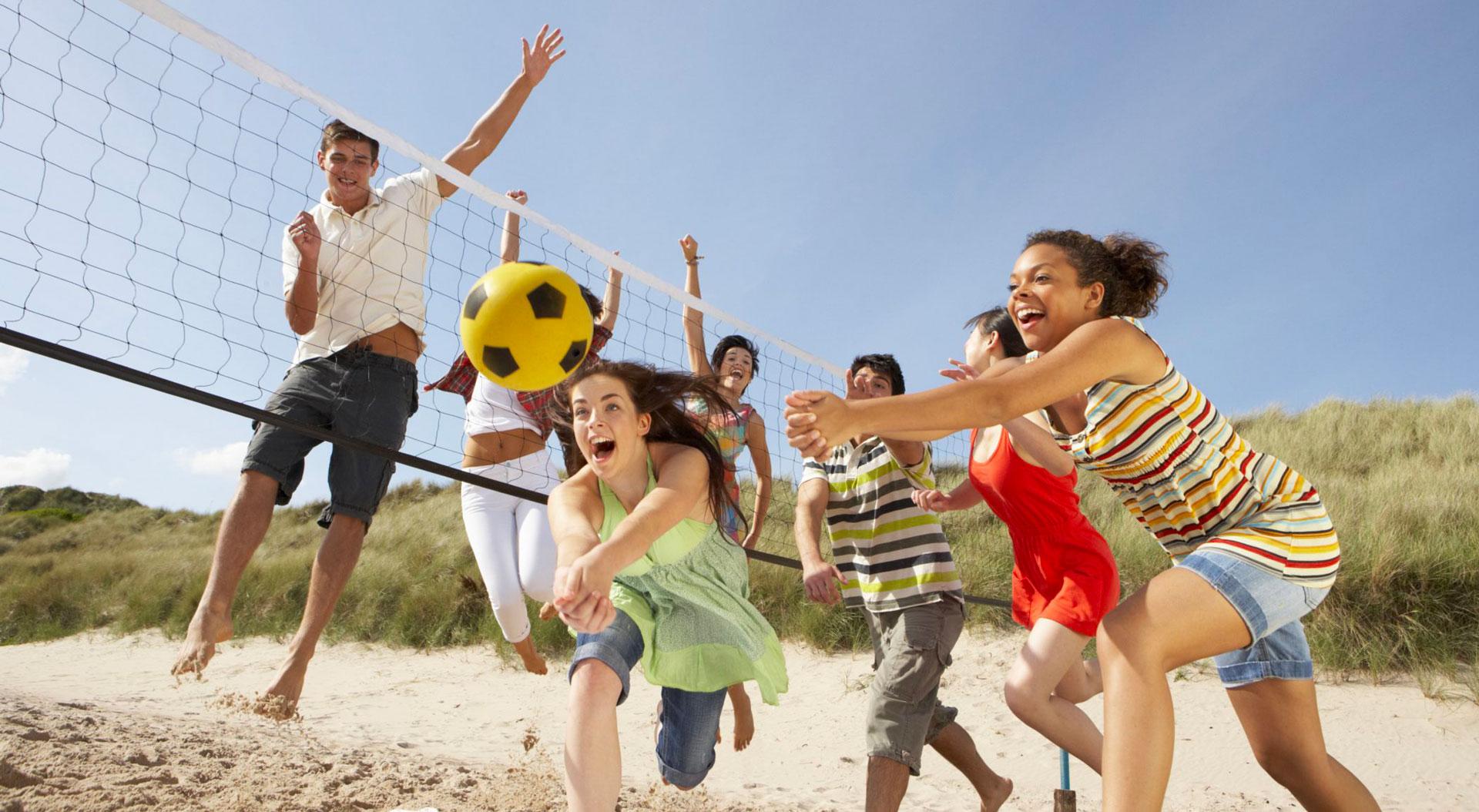 Tempo di mare, tempo di beach volley